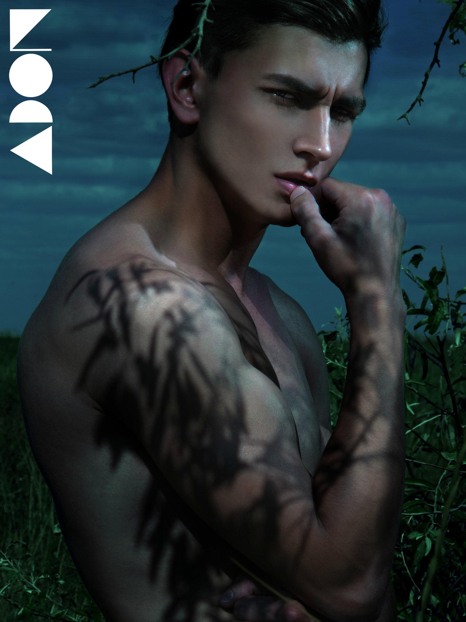 Adon Exclusive: Model Valentin Korolkov By Arthur Tselishchev