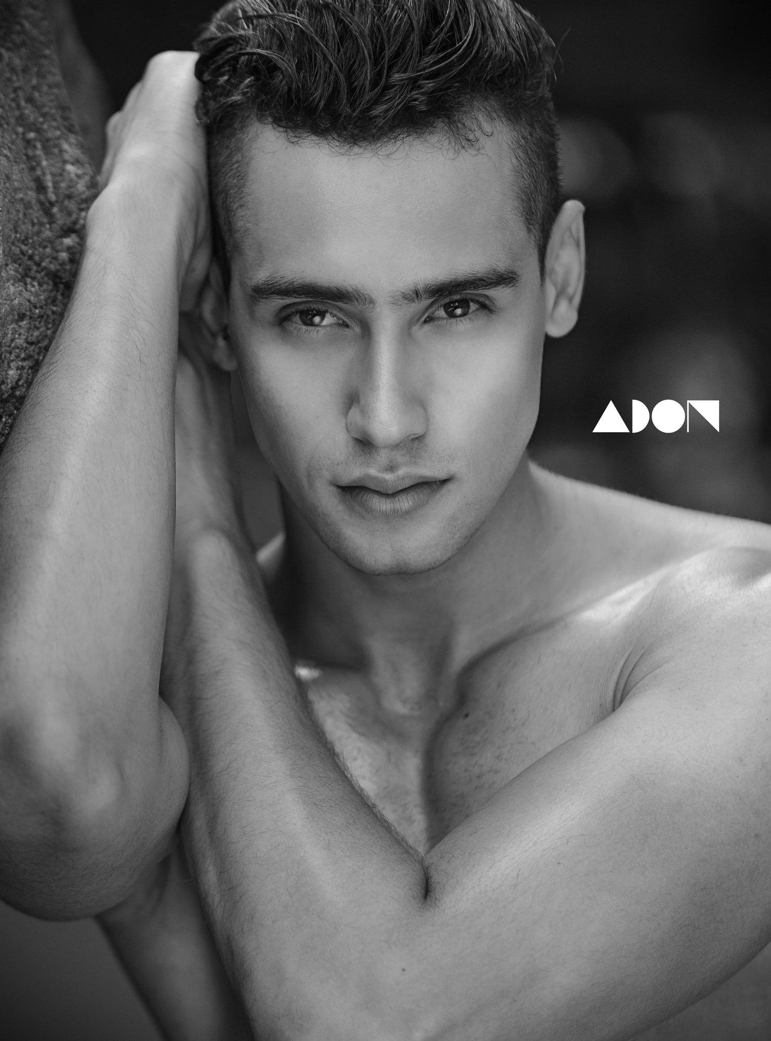 Adon Exclusive: Model Gustavo Dias By Jason Oung