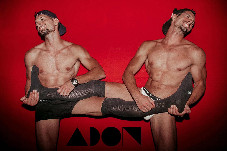 Adon Exclusive: Models Kike and Nando By  Jose Martinez
