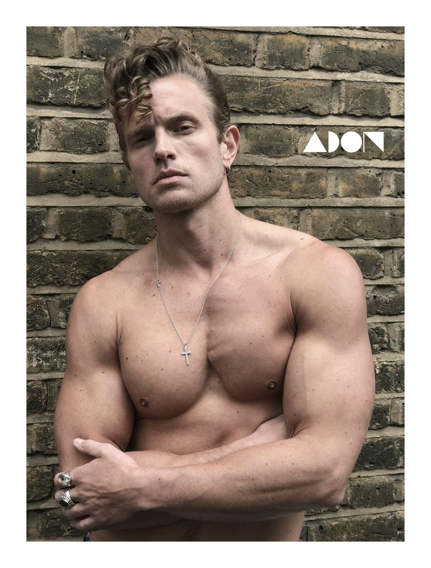 Adon Exclusive: Model Ollie Pearce By Graham Cruz
