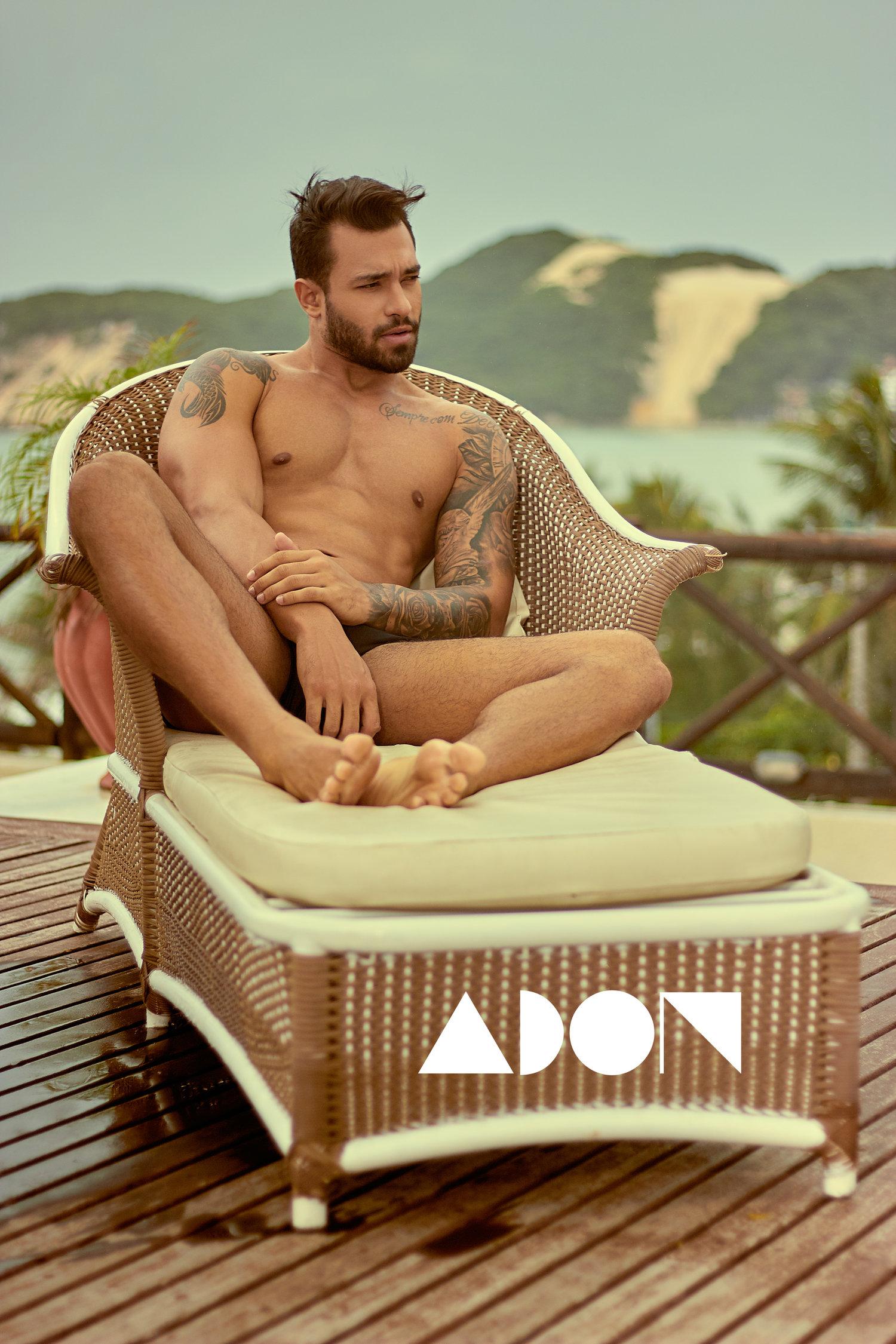 Adon Exclusive: Model Bruno Mooneyhan By Pedro Fonseca