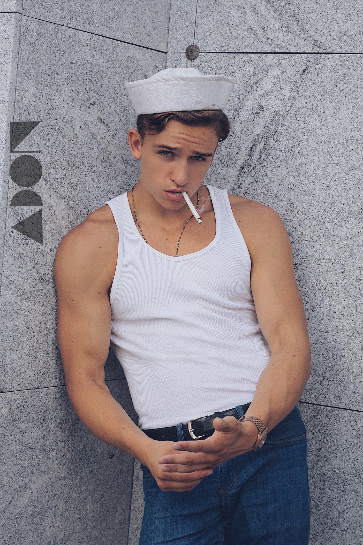 Adon Exclusive: Model Beau Minniear By Luis Lucas