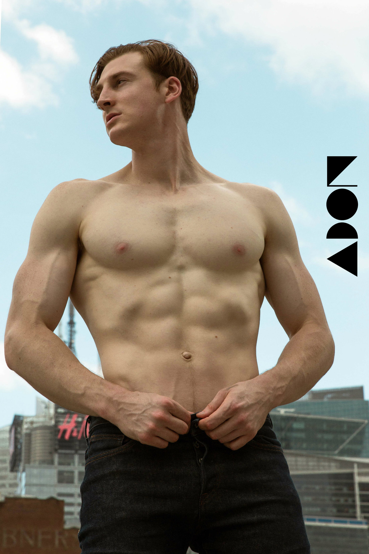 Adon Exclusive: Model Mike Vona By West Phillips
