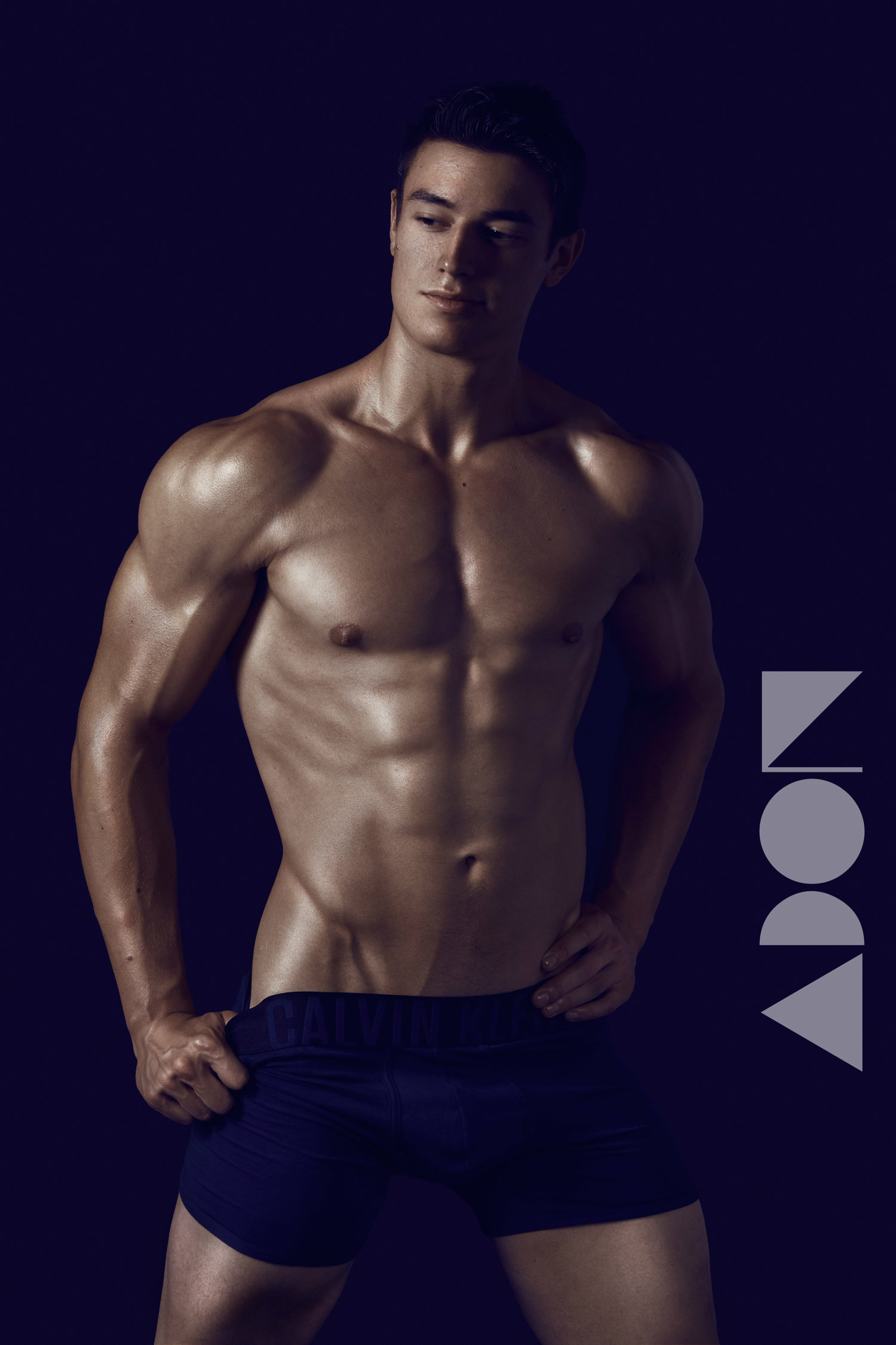 Adon Exclusive: Model Geoff Tabor  By Irving Scott Lopez