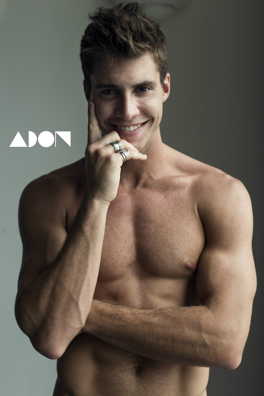 Adon Exclusive: Model Connor Feasel By Johnny Lu