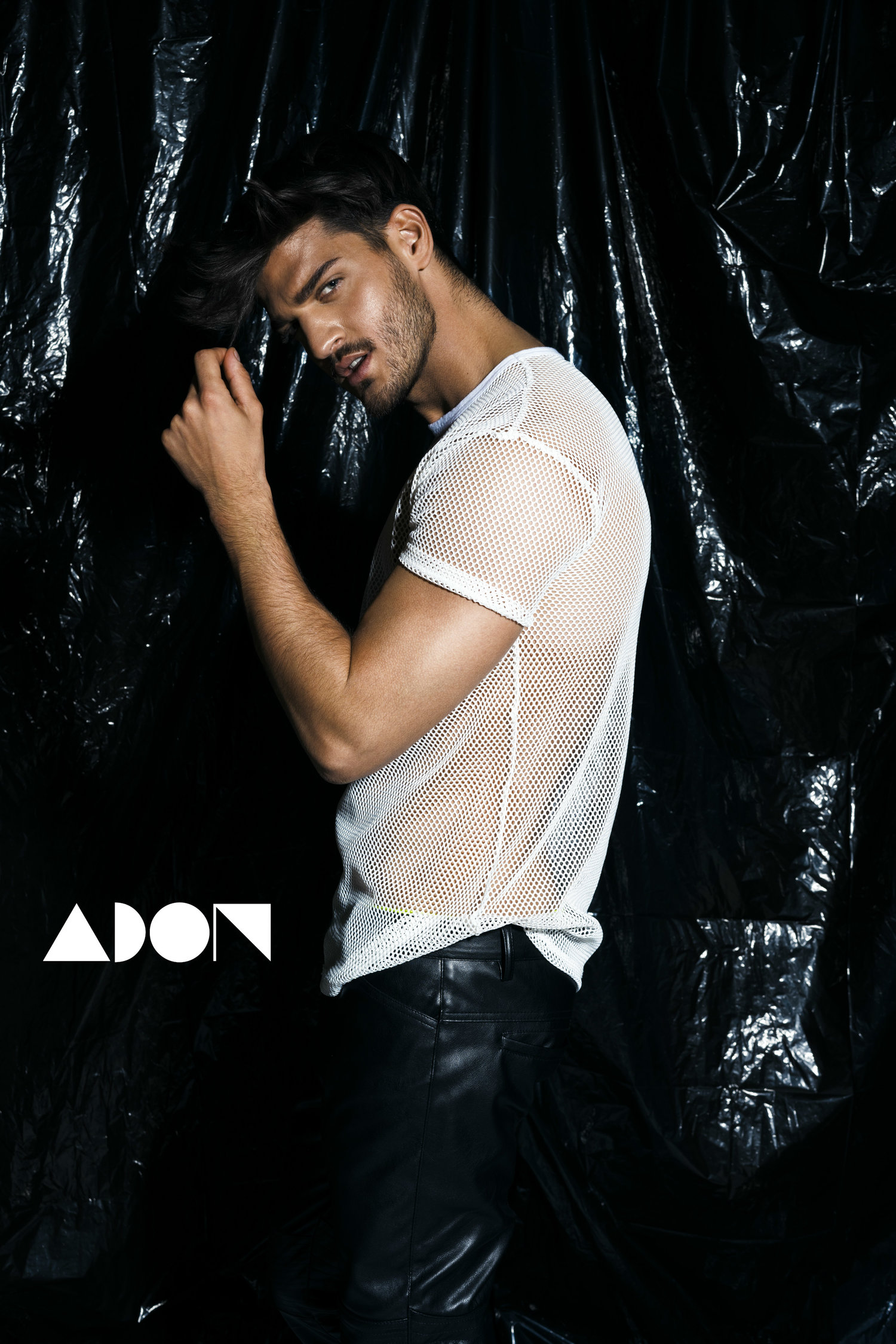 Adon Exclusive: Model David Habibi By Domenic Hartmann