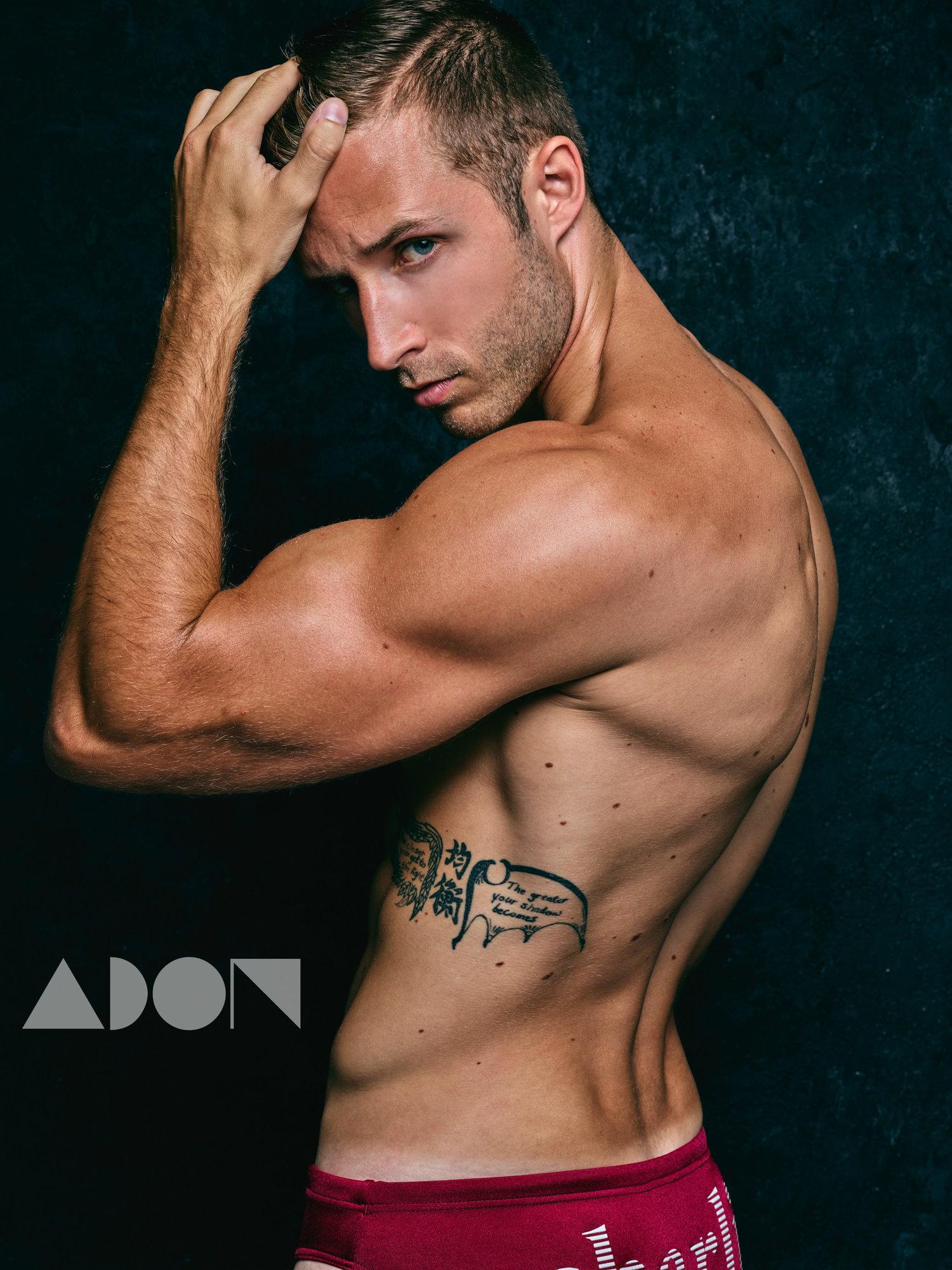 Adon Exclusive: Model Dillion Lalor By Carlos Trey Salazar