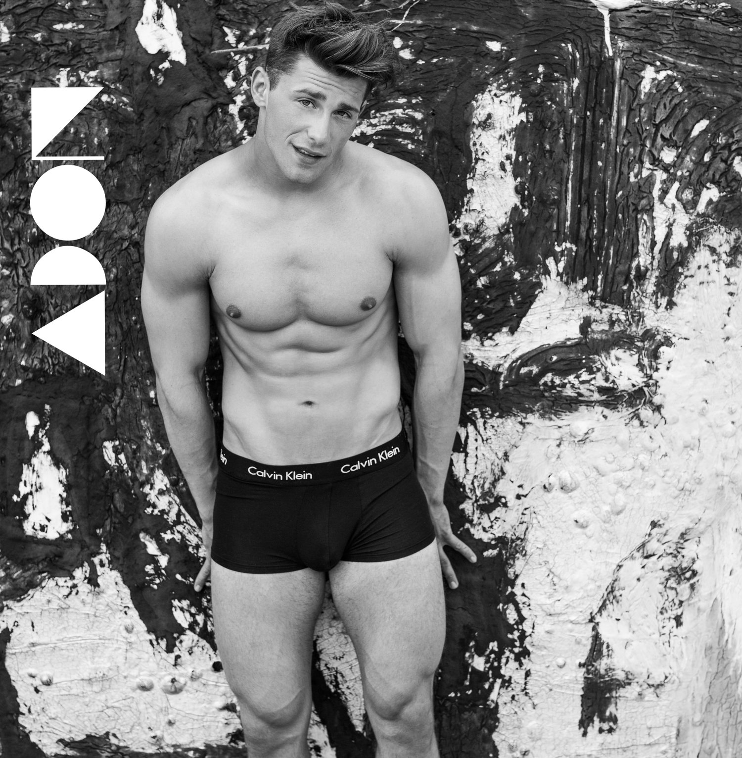 Adon Exclusive: Model Joe Piestresfesa By Chuck Thomas