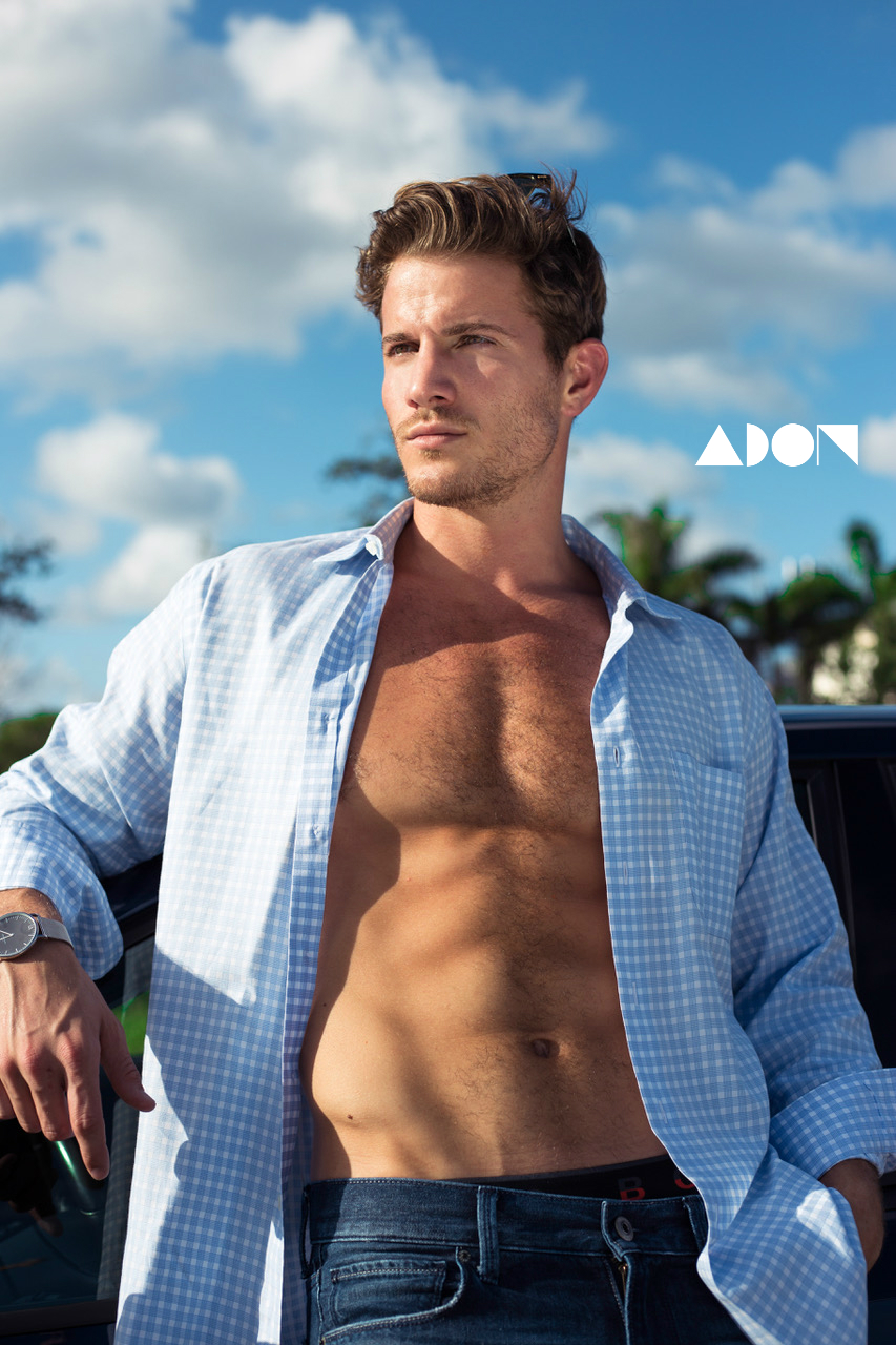 Adon Exclusive: Model Tyler Gattuso By Johnny Lu