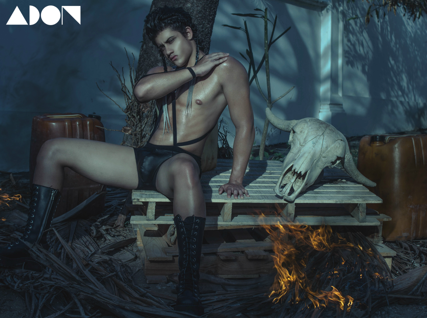 Adon Exclusive: Model Néstor Cisneros By AGARES