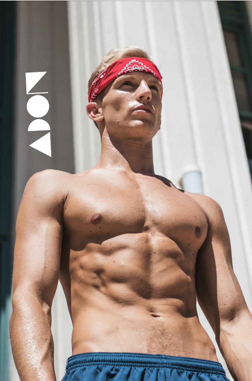 Adon Exclusive: Model Mitchell Flowers By Adam Washington