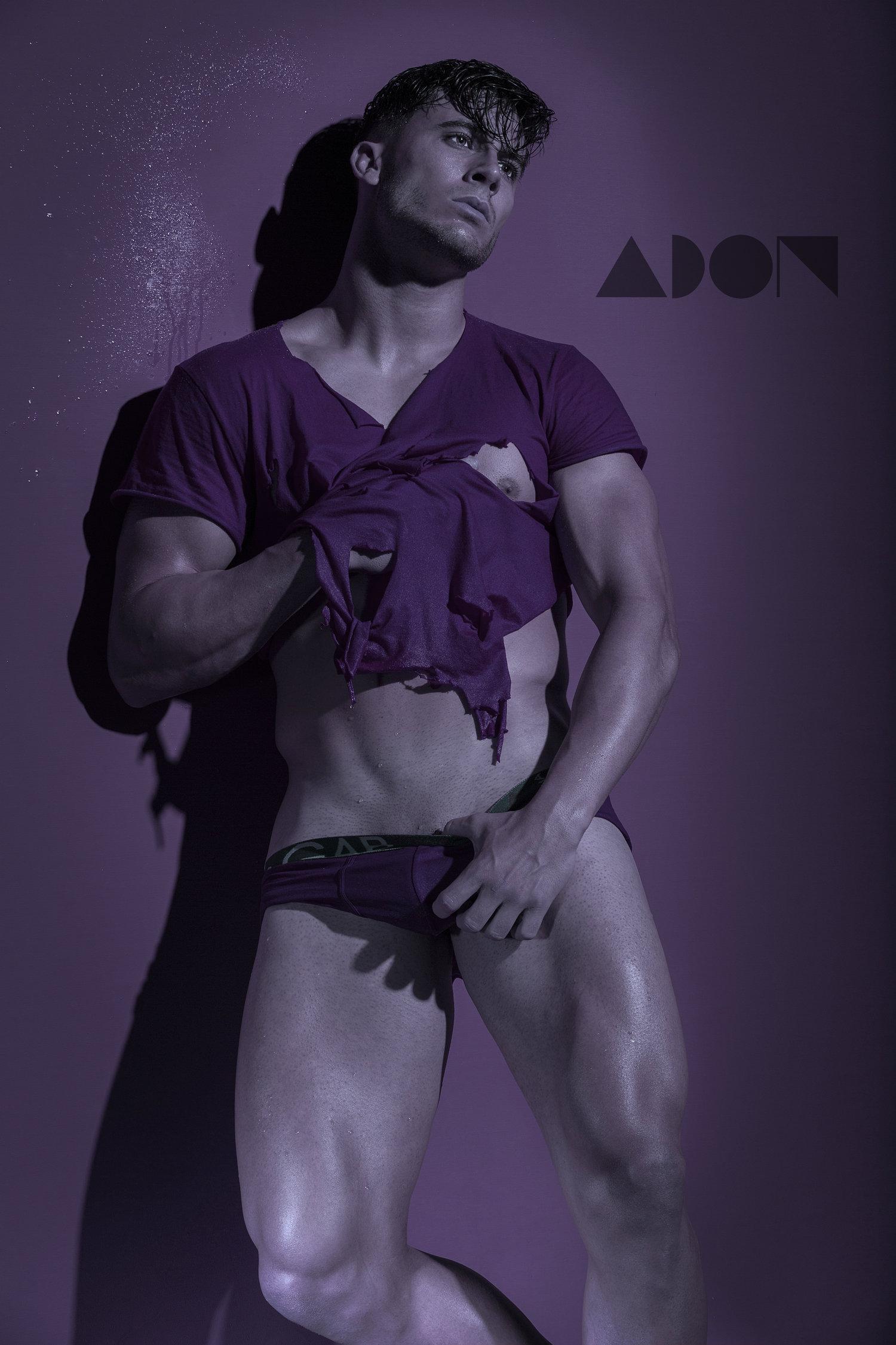 Adon Exclusive: Model Alberto Mancha By Andres Moca