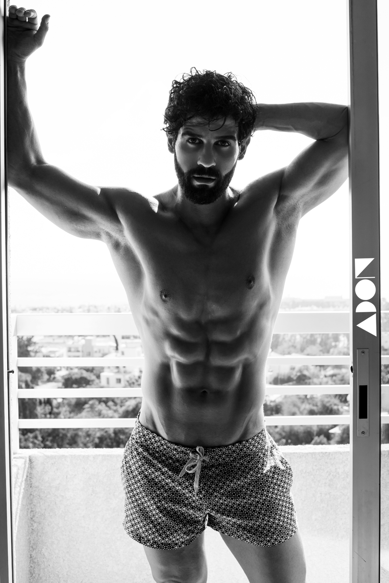 Adon Exclusive: Model Manhal Bnayat By Andreas Constantinou & Stavros Christodoulou