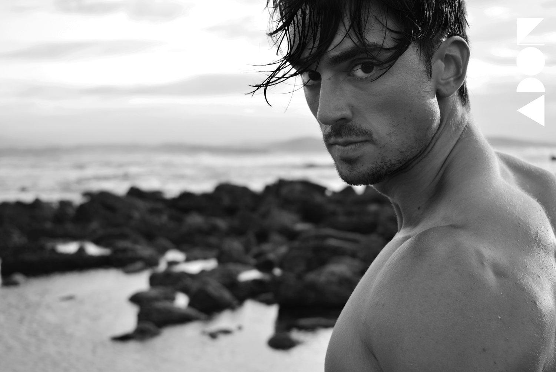 Adon Exclusive: Model Javier García By Manu Bermúdez