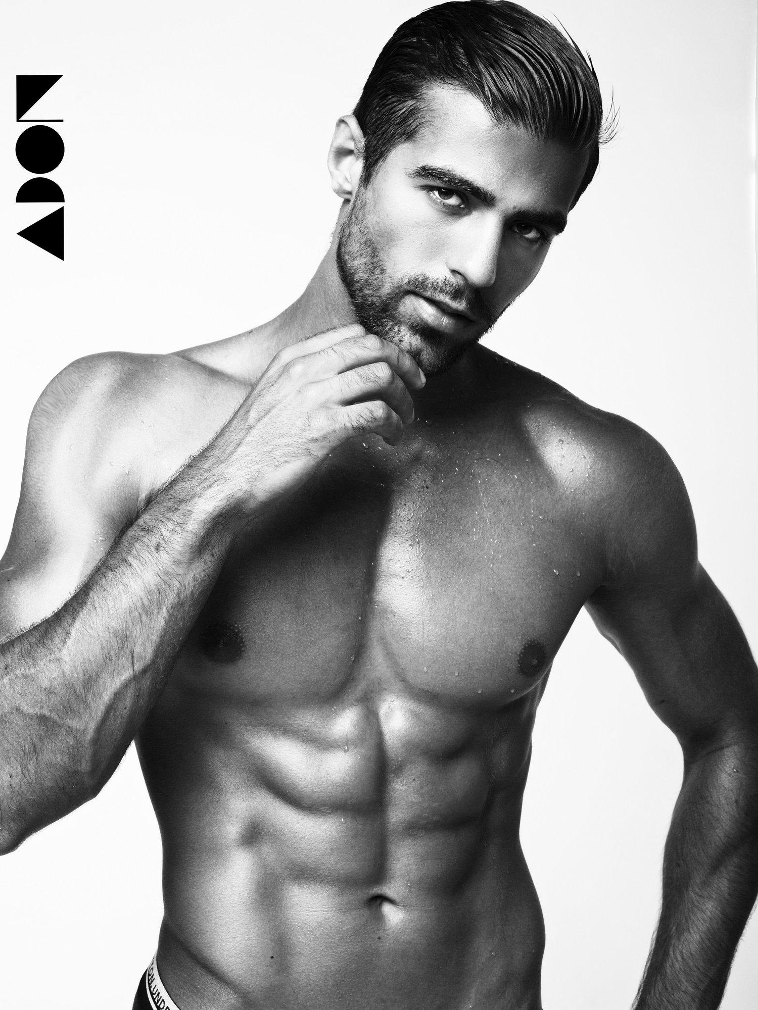 Adon Exclusive: Model Danil Kotenko By Elena Dubrovskaya