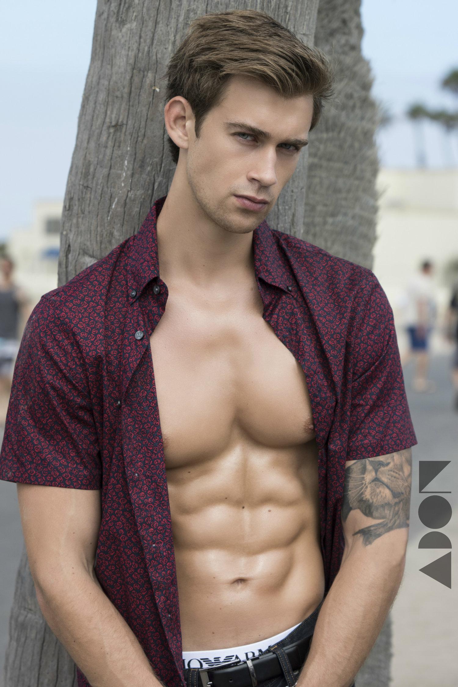 Adon Exclusive: Model Miles Reza By Amanda Ramón