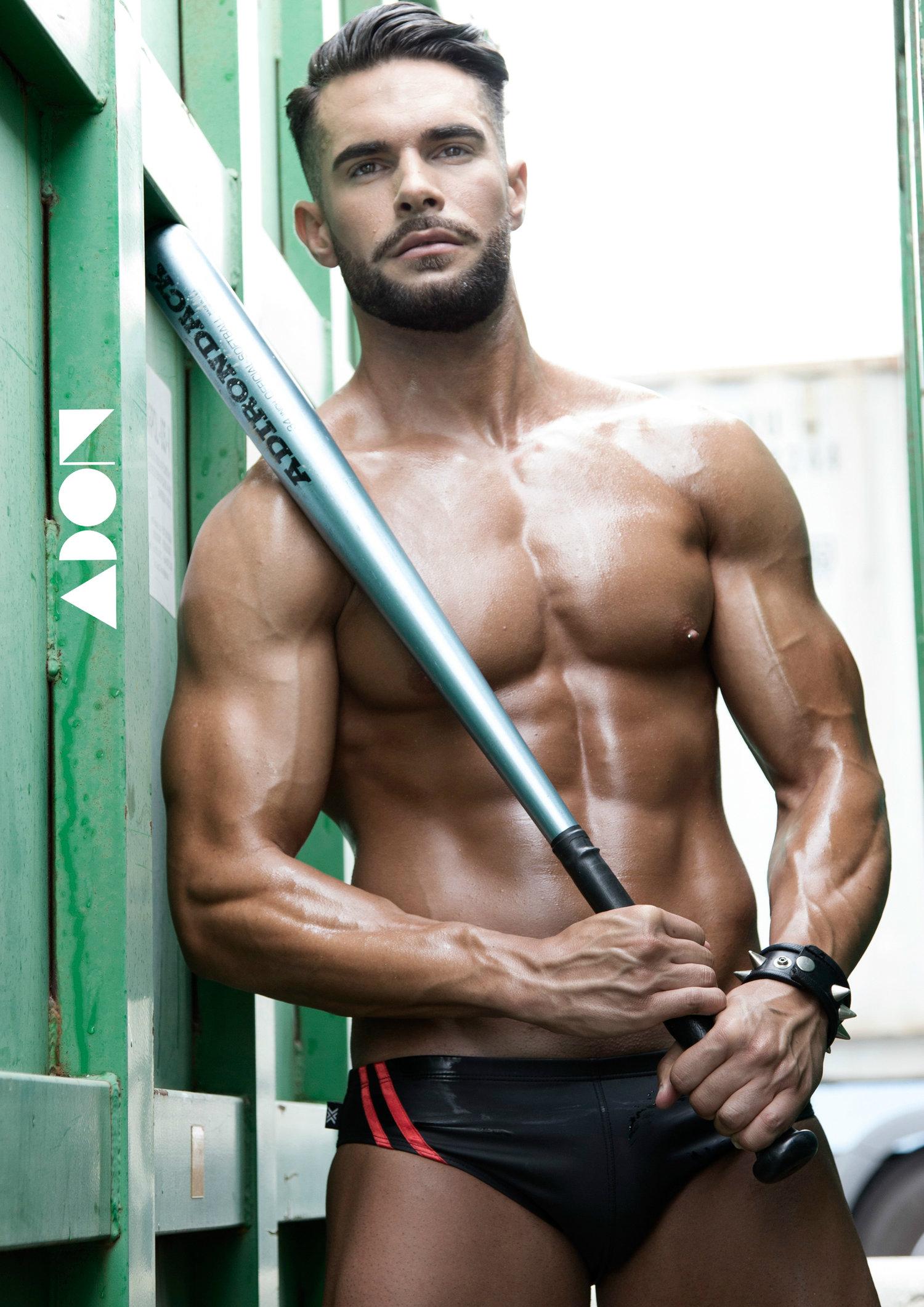 Adon Exclusive: Model Adrian Munoz By Carlos Buenosite