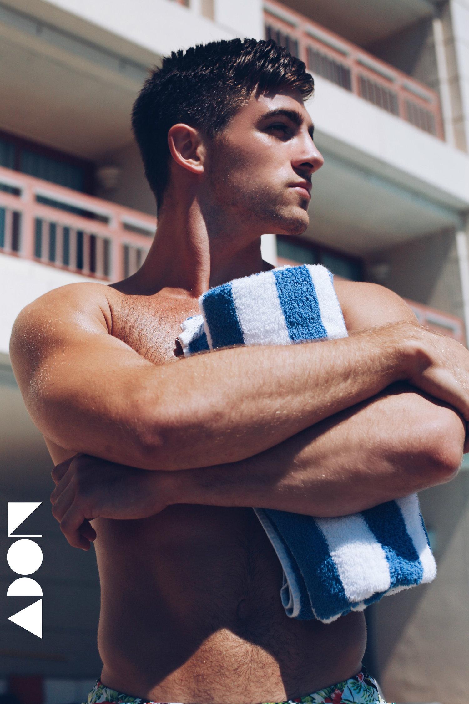 Adon Exclusive: Model Tony B. By Mark Mendez