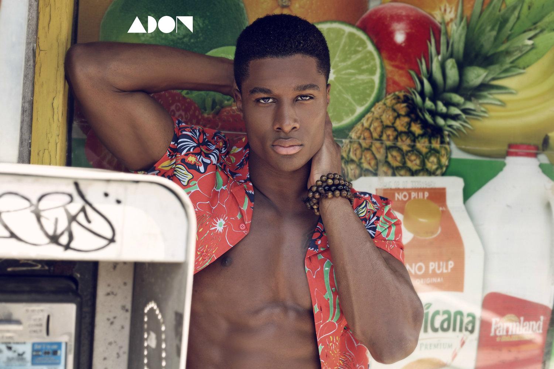 Adon Exclusive: Model Leaon Hines By Thomas Synnamon