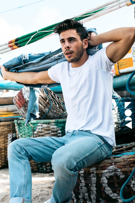 Adon Exclusive: Model Fernando Pas By Cyril Saulnier
