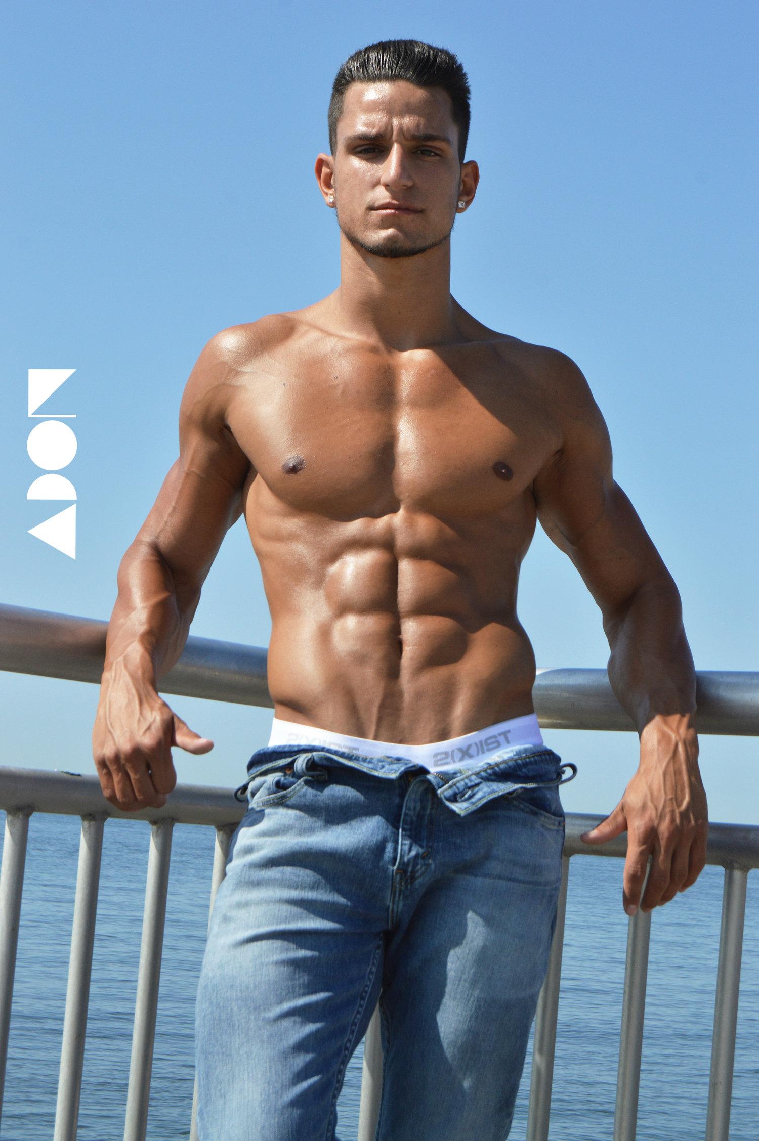 Adon Exclusive: Model Danny Romolo By Price Brendon