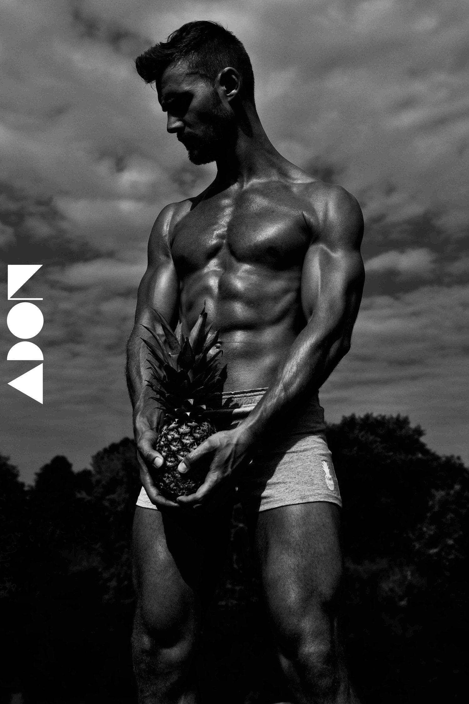 Adon Exclusive: Model Steve Hodgson By Paul Jamnicky