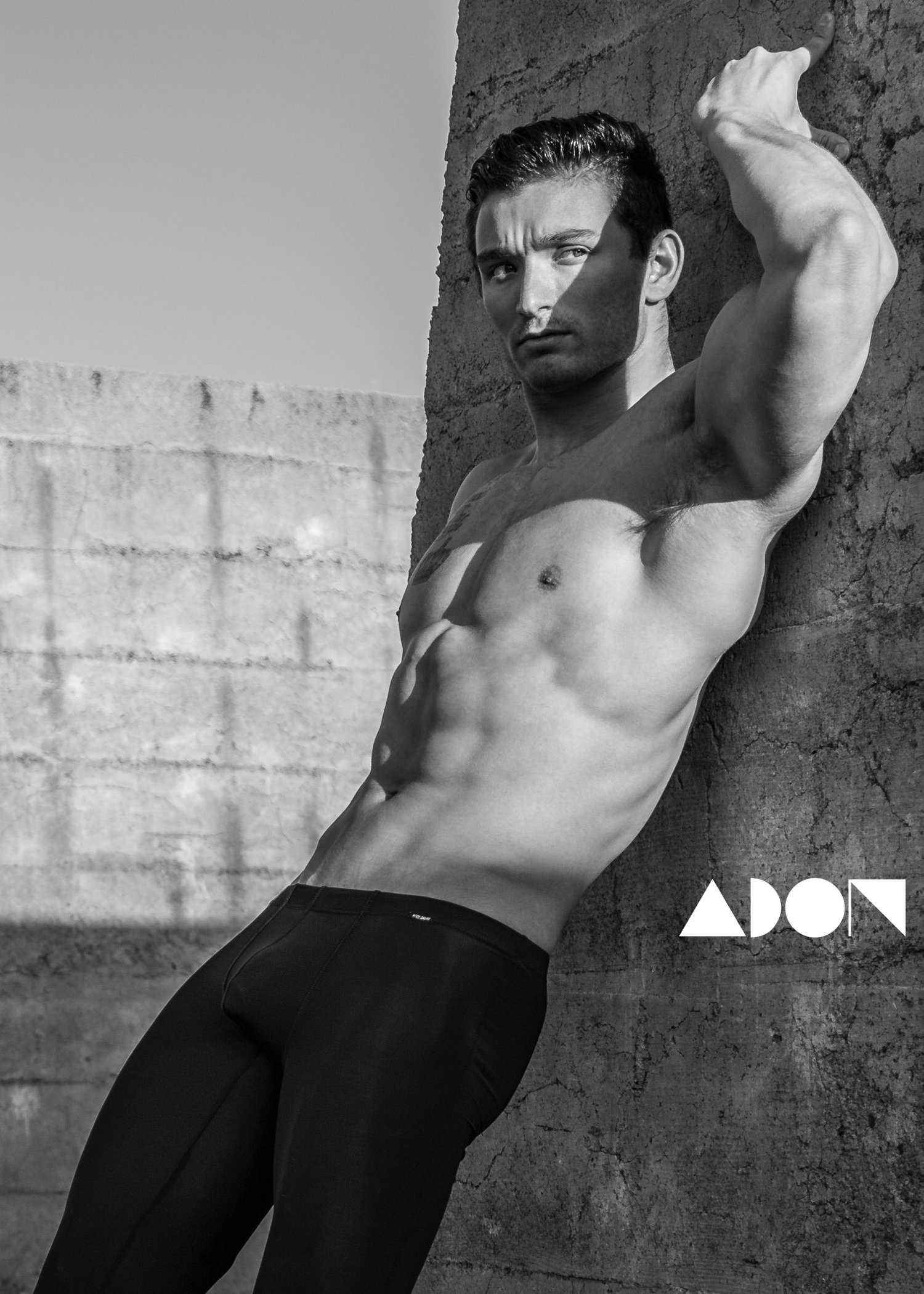 Adon Exclusive: Model Nathan Linenberger By Christopher Scott