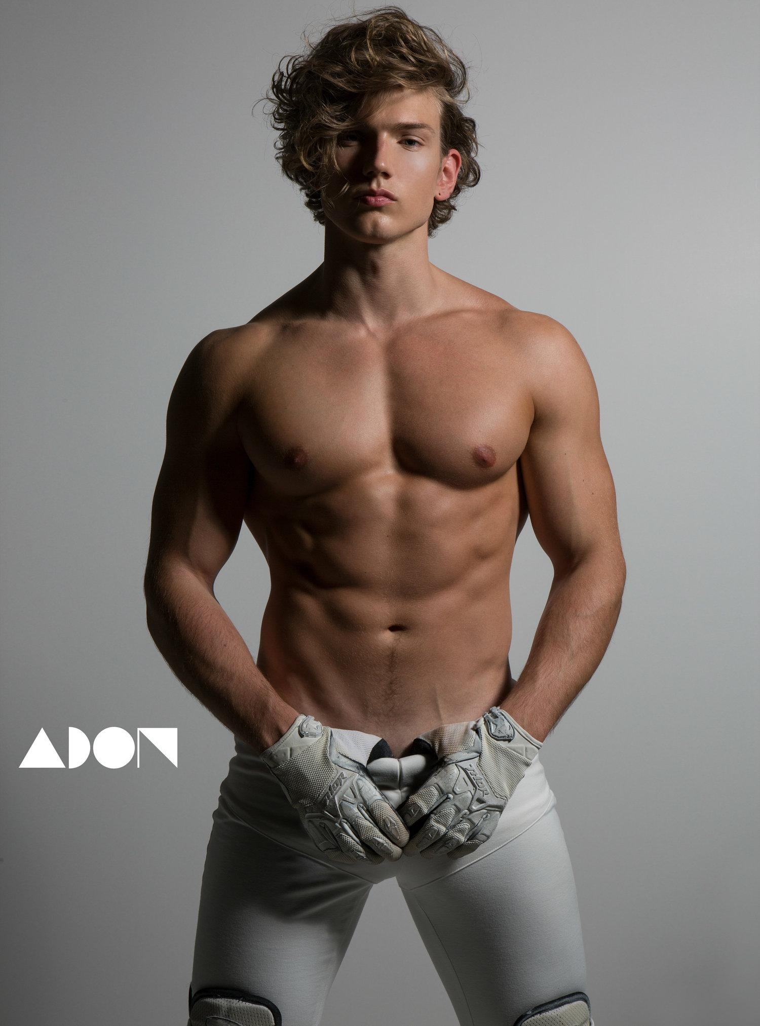 Adon Exclusive: Model Benjamin Ahlblad By Esa Kapila
