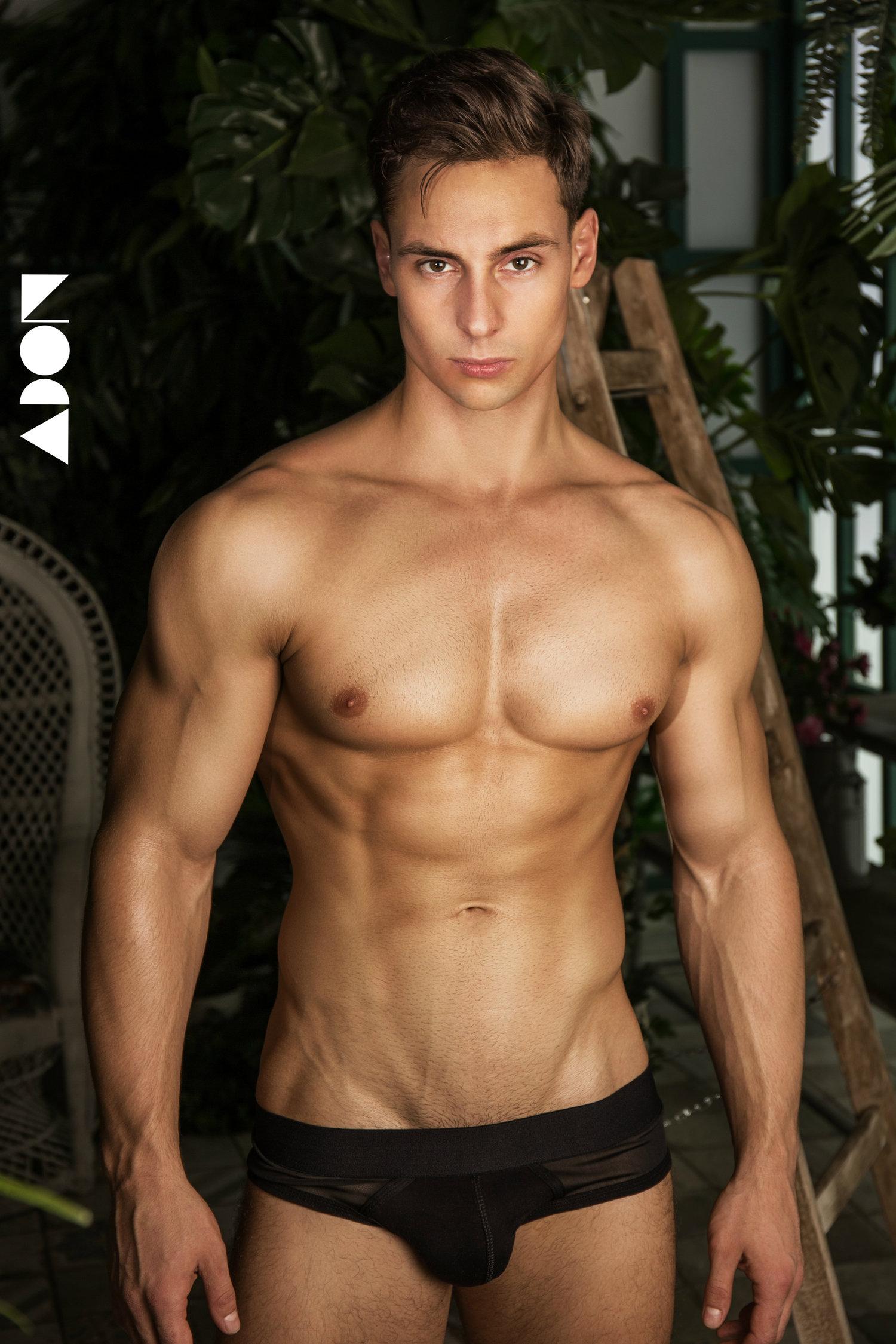 Adon Exclusive: Model Vladimir By Stas Vokman
