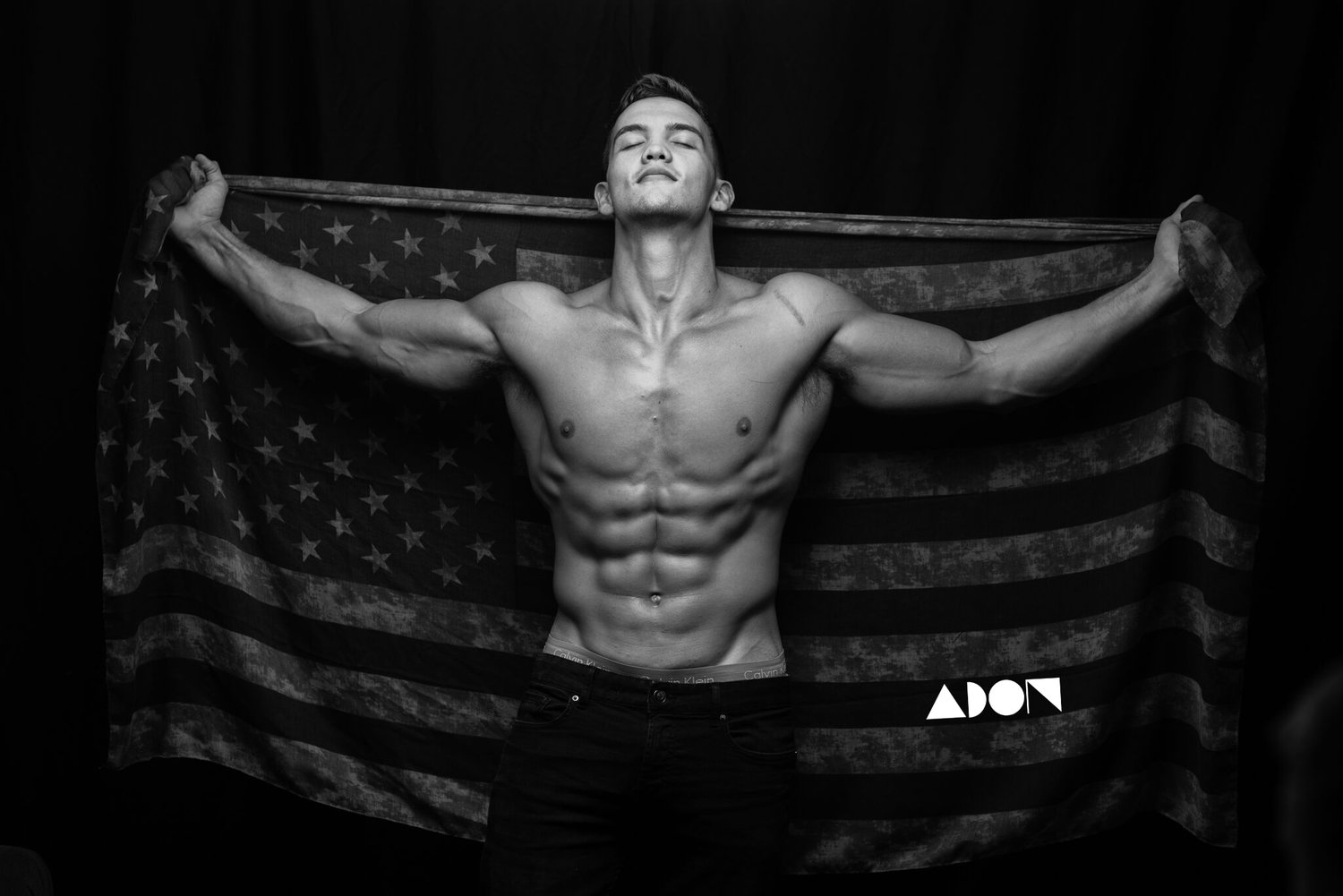 Adon Exclusive: Model Calvin Boling By Kevin Camp
