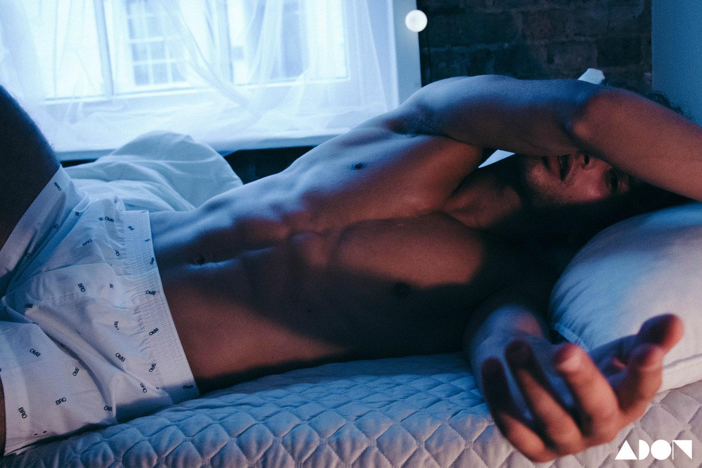 Adon Exclusive: Model Eyal Booker By Antonio Eugenio
