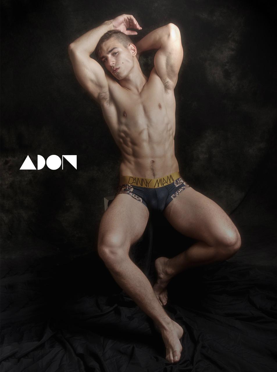 Adon Exclusive: Model Dragan Pecin By Paul Jamnicky