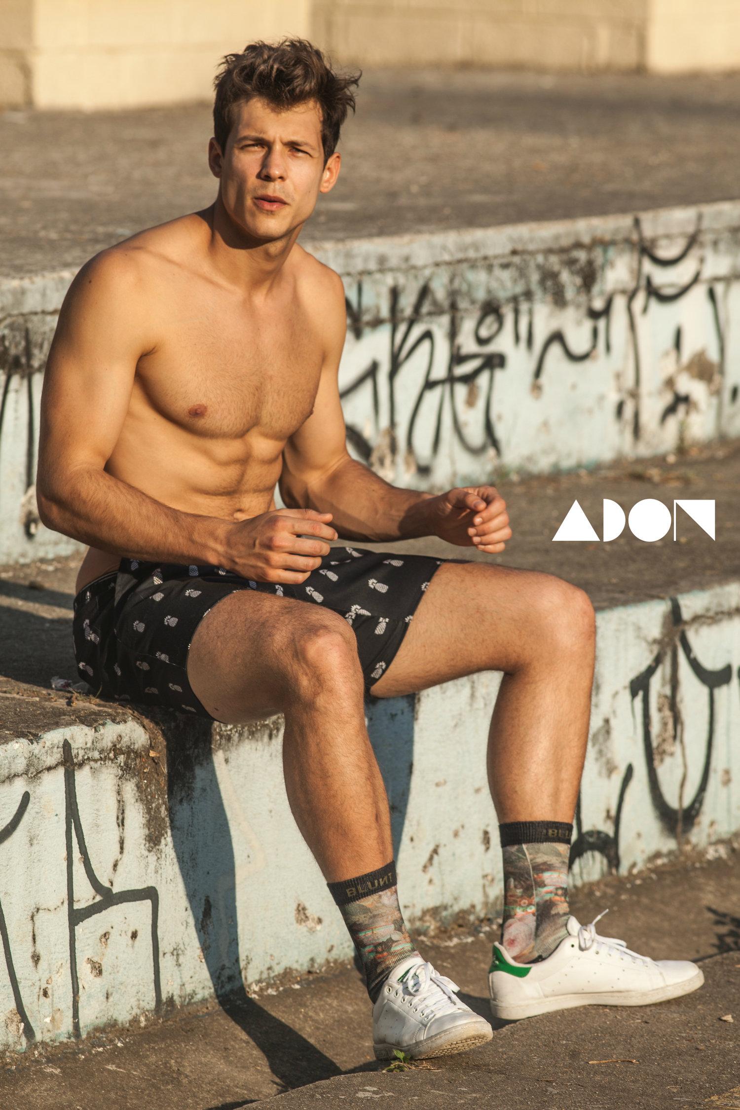 Adon Exclusive: Model Fernando Pessiquelli By Marcelo Auge