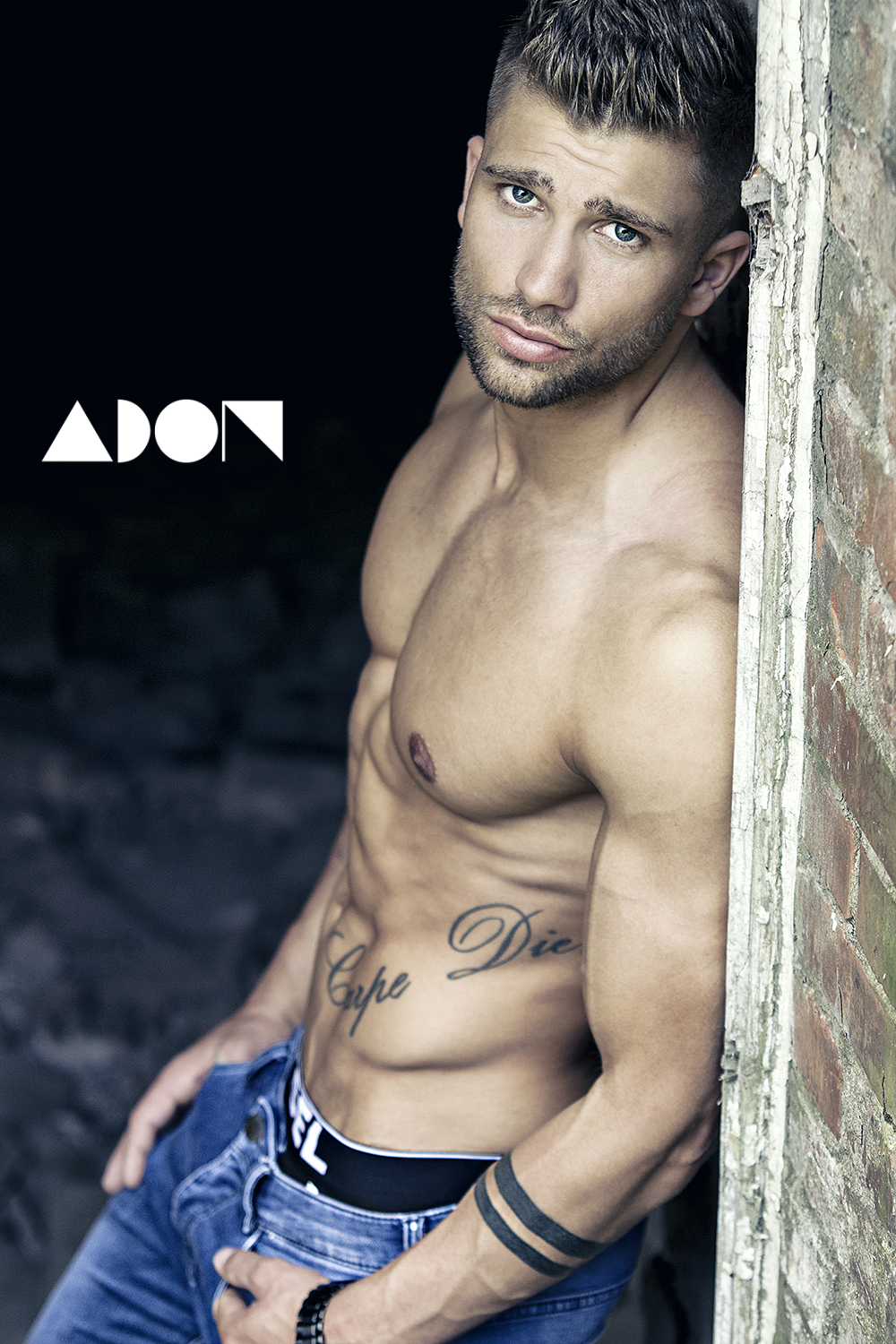 Adon Exclusive: Model Tobias Worth By Michael Laurien