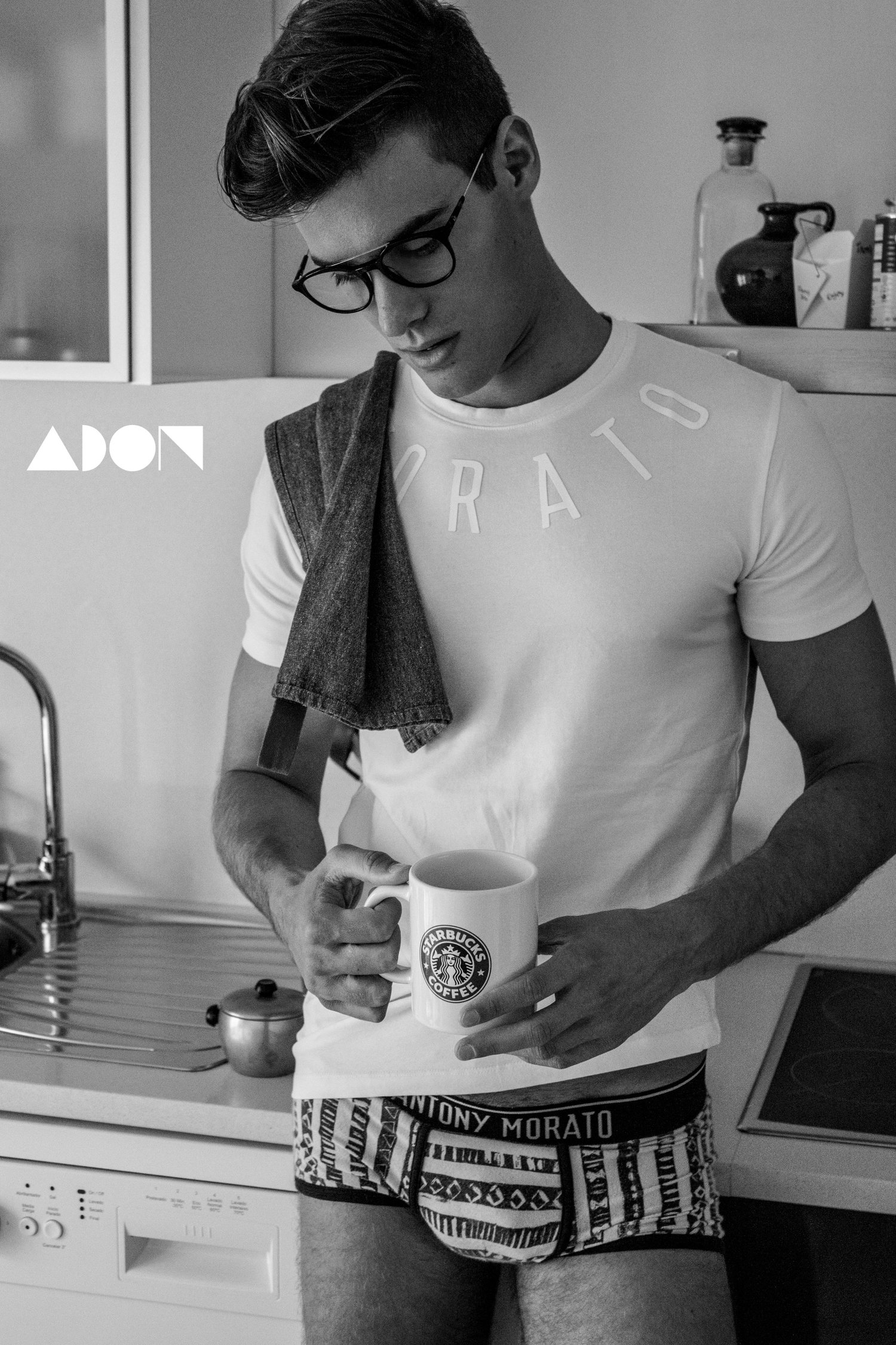Adon Exclusive: Model Cristophe Caron By Antonio Fdez