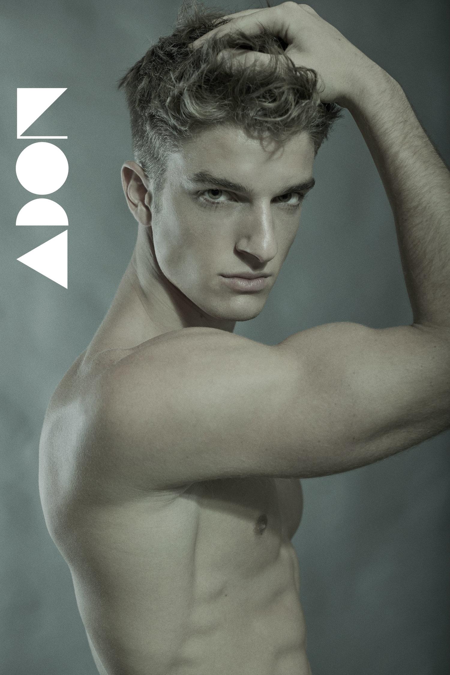 Adon Exclusive: Model Bruno Scafidi By Riccardo Torri
