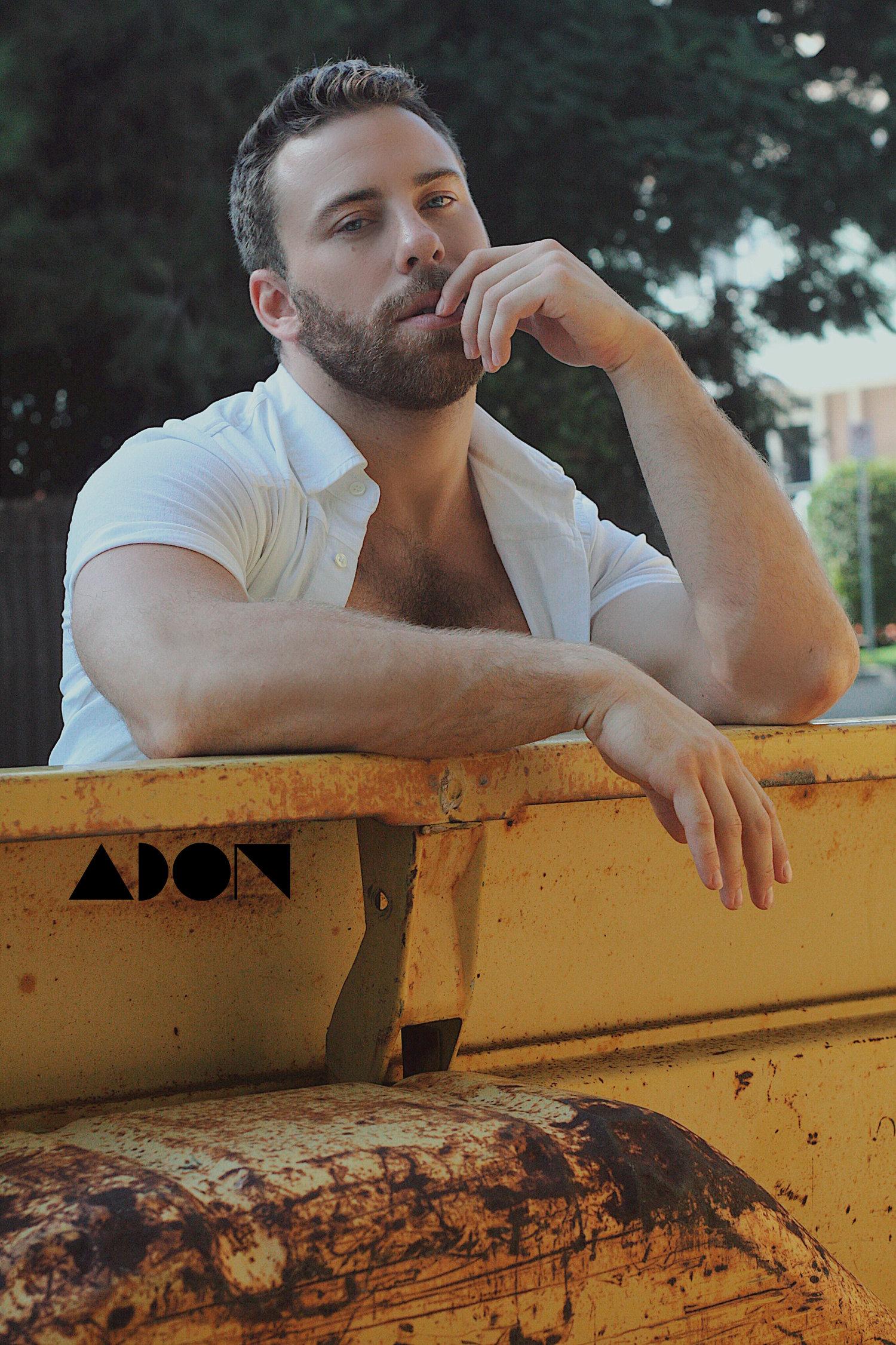 Adon Exclusive: Model Bruin Collinsworth By Luis Lucas