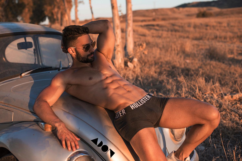 Adon Exclusive: Model Panayiotis Pelagias By Stavros Christodoulou