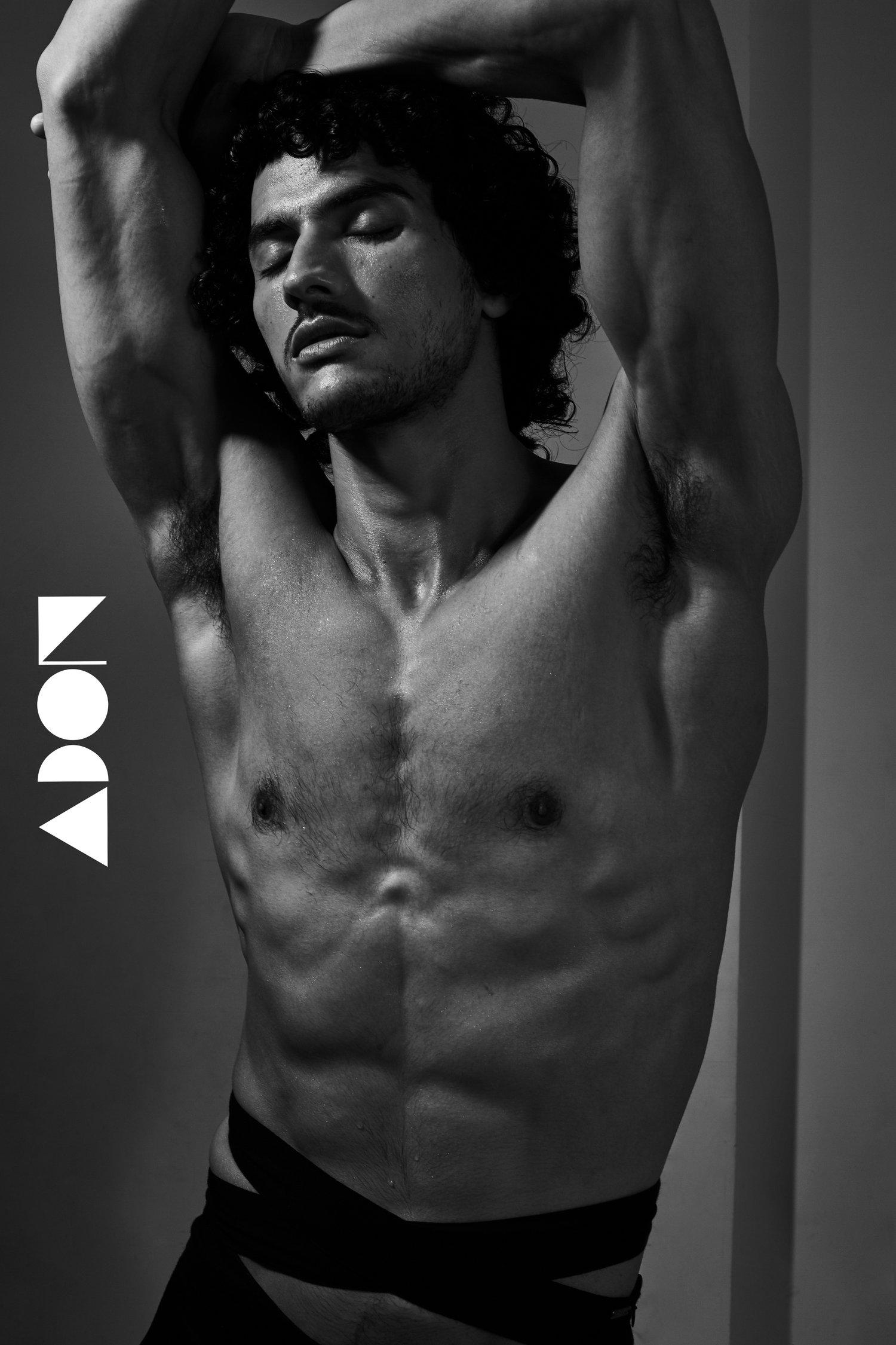 Adon Exclusive: Model Ravi Goswami By Kedar