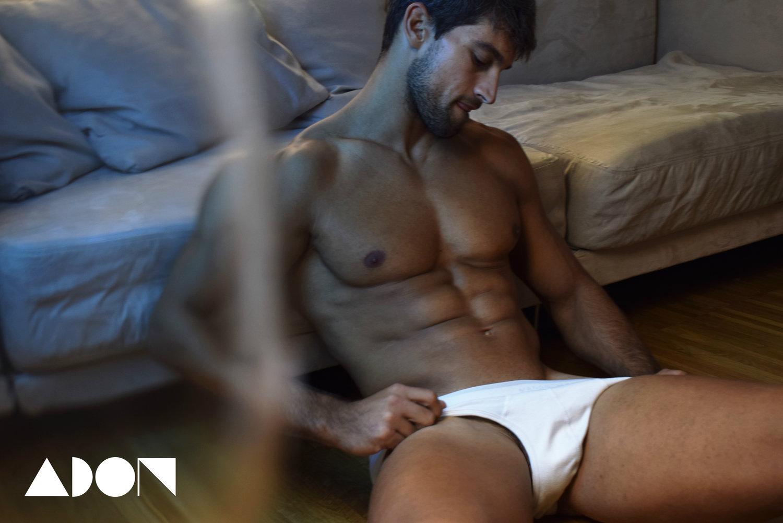 Adon Exclusive: Model Diego Caballero By Manu Bermúdez