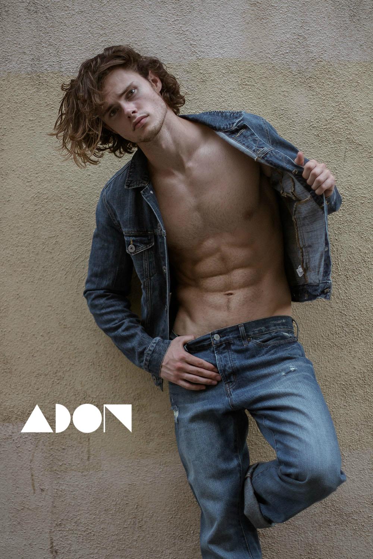 Adon Exclusive: Model Max Dernoll By Lester Villarama
