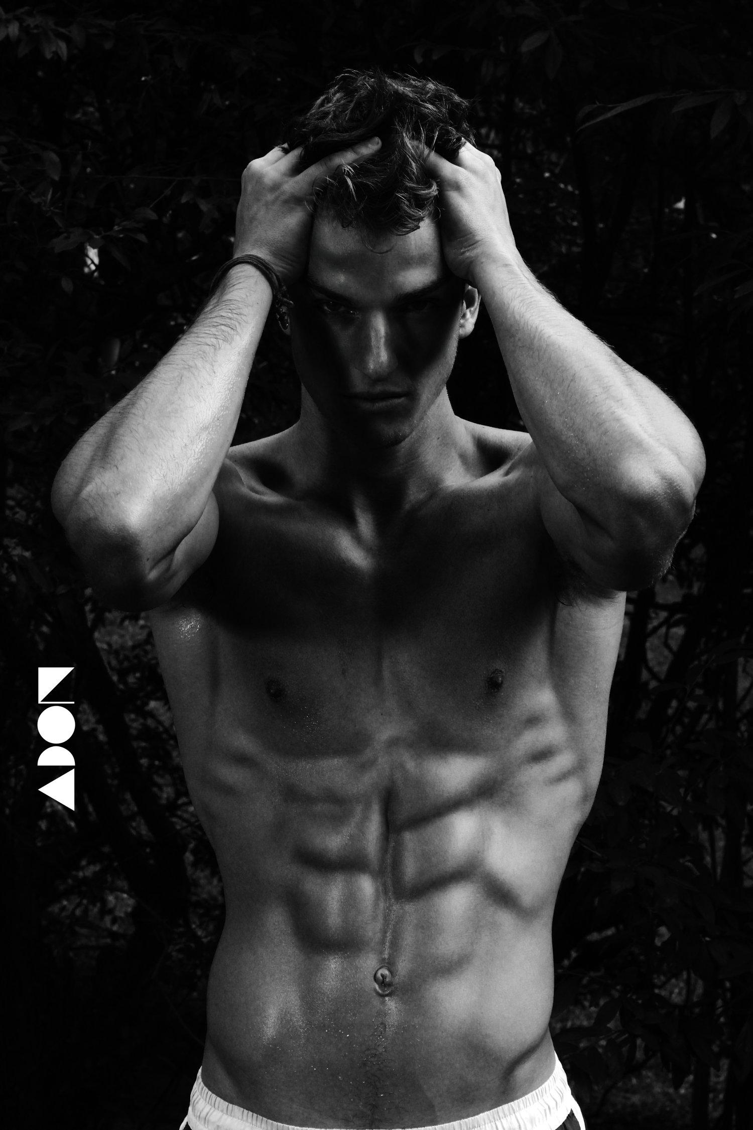 Adon Exclusive: Model Bruno Scafidi By Sef