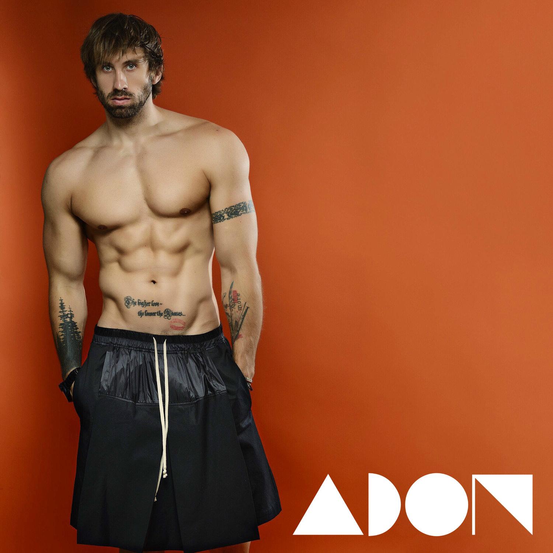 Adon Exclusive: Model Anton Sebel By Jeffery Beasley