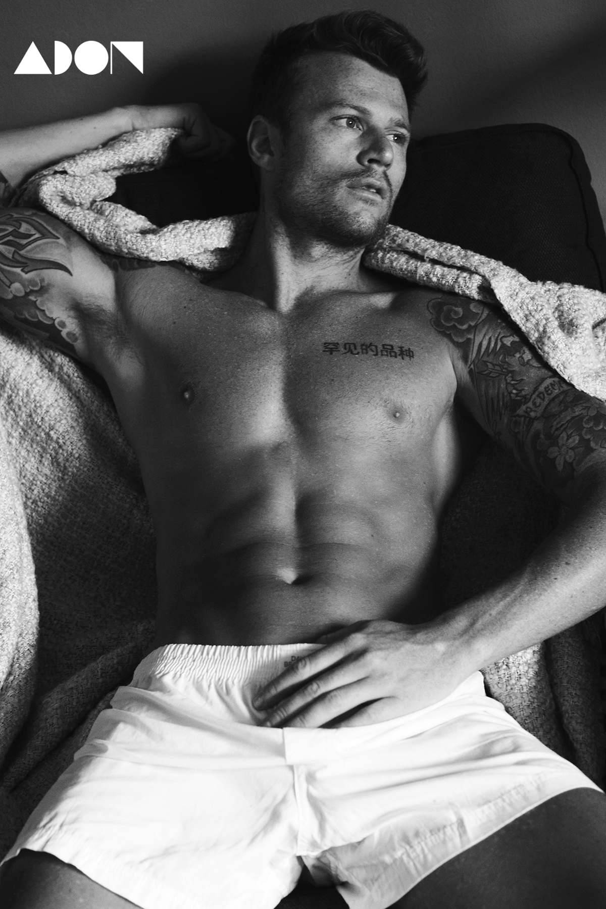 Adon Exclusive: Model Mike Mains By Patrick Lacsina