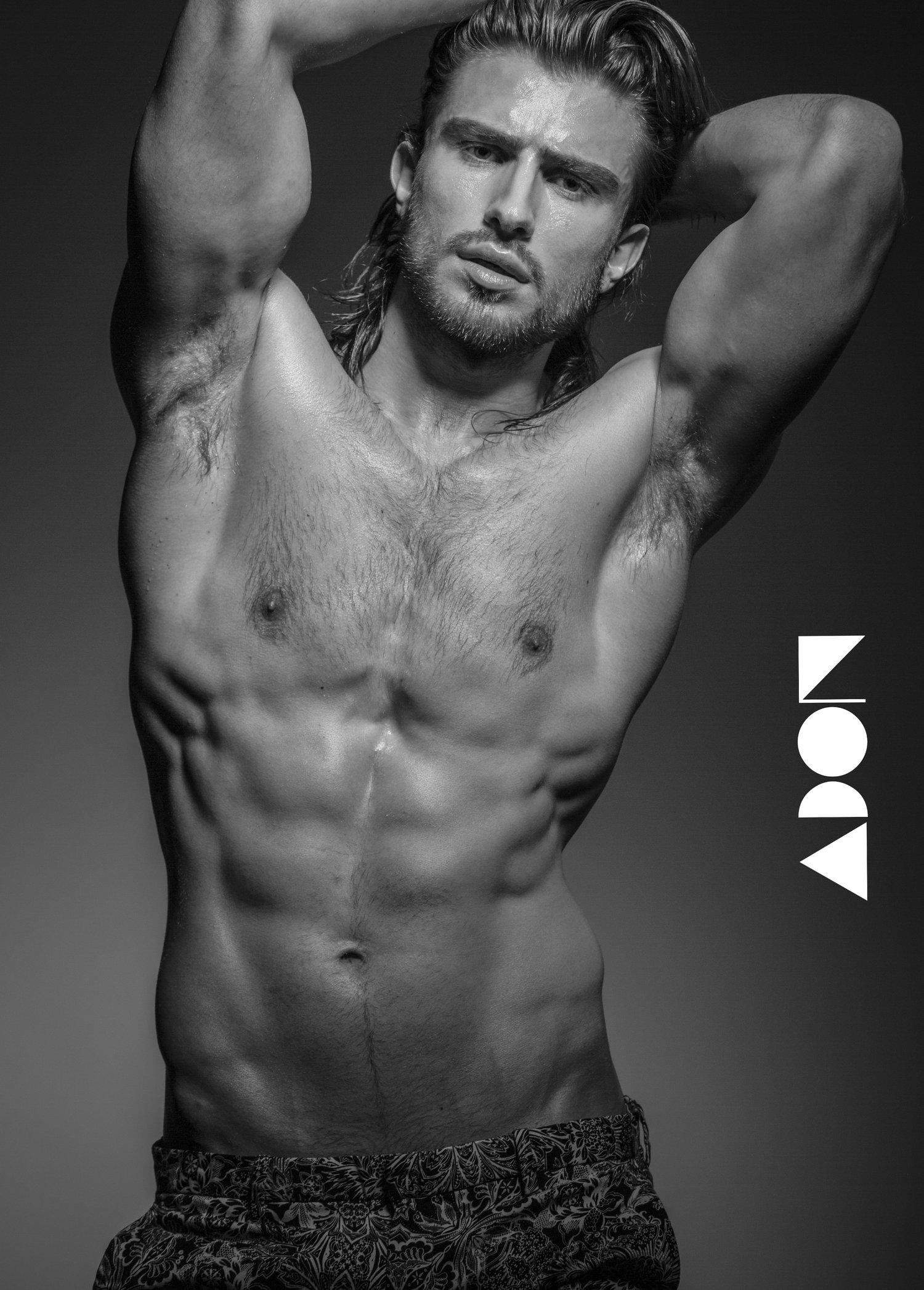 Adon Exclusive: Model Bujar Kasha By Paul Van Der Linde