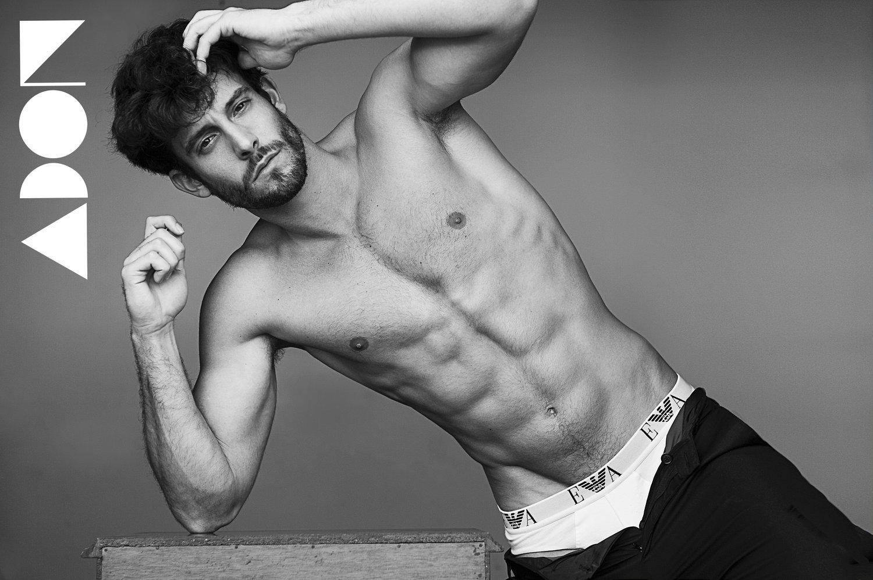 Adon Exclusive: Model Carles Barato By Miguel Zaragozá