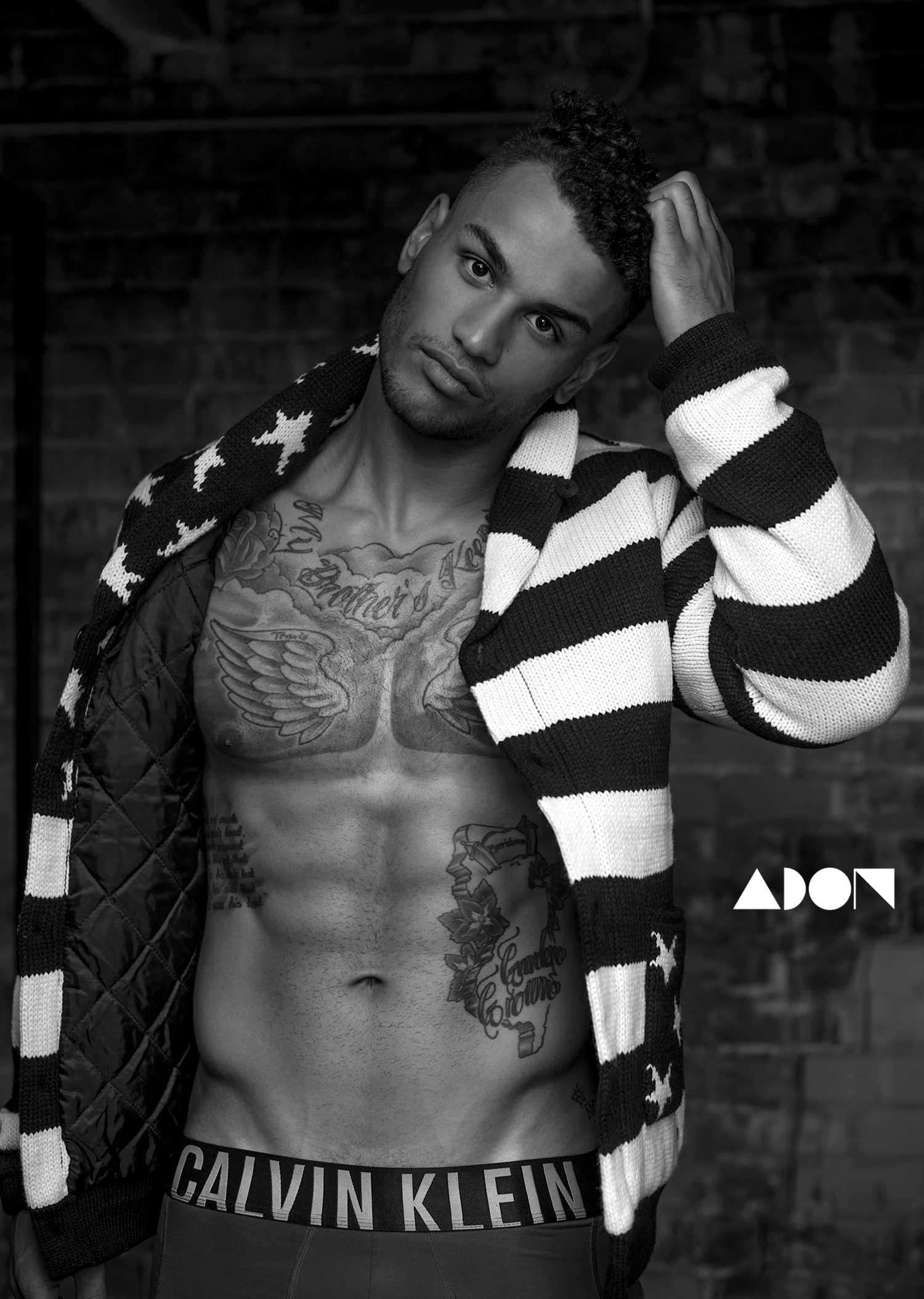 Adon Exclusive: Model Blake Roberts By Frank Marando