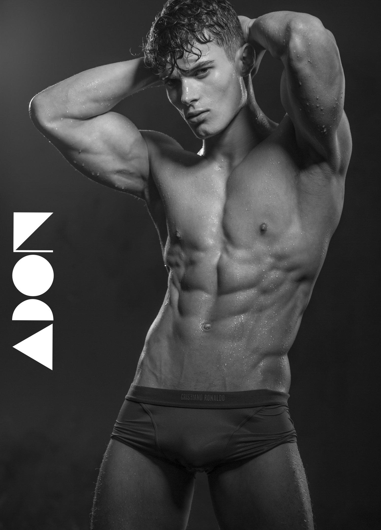 Adon Exclusive: Model Karl Leonhard Stuke By Paul Van Der Linde