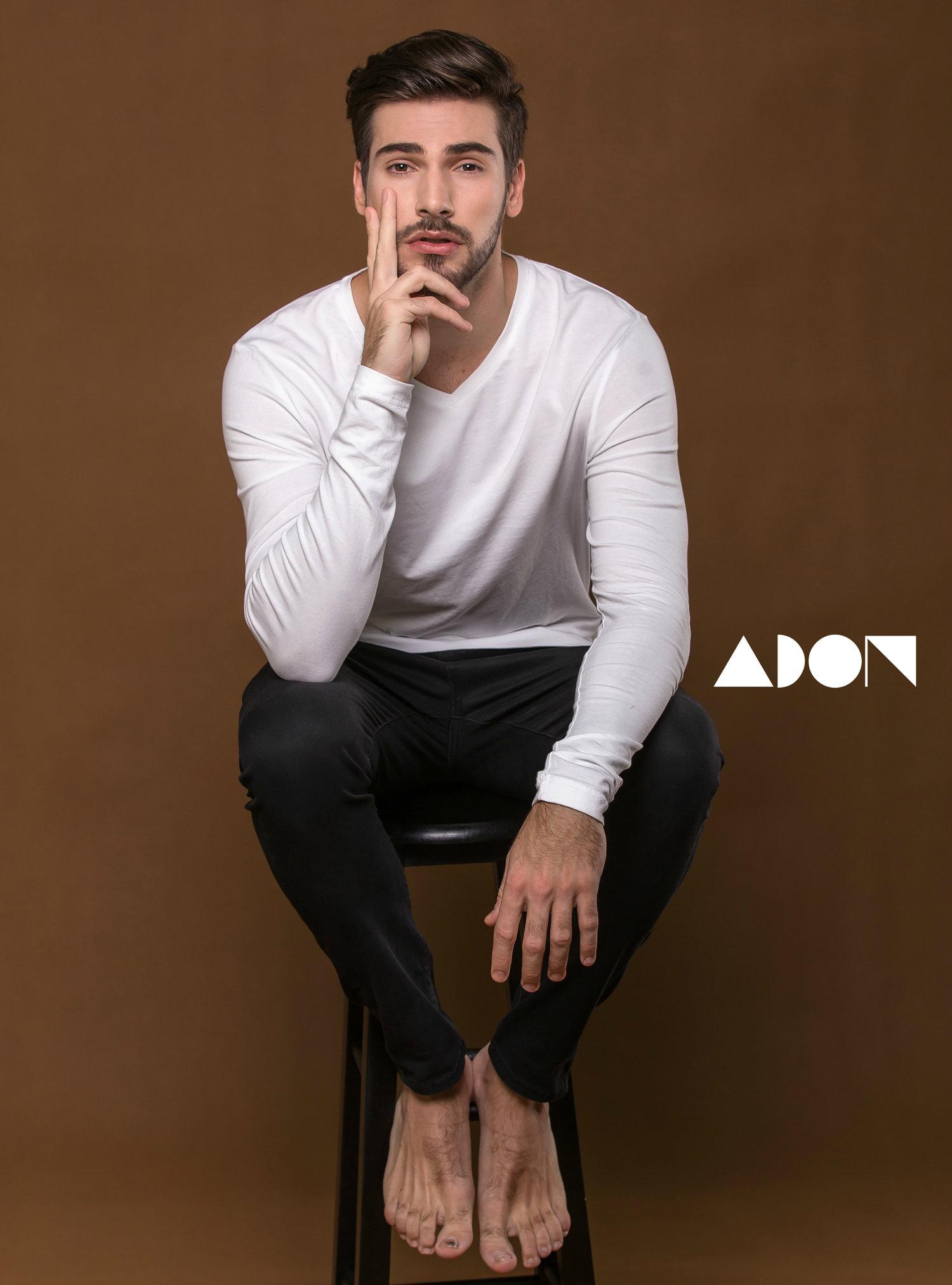 Adon Exclusive: Model Natan Squersato By Jason Oung