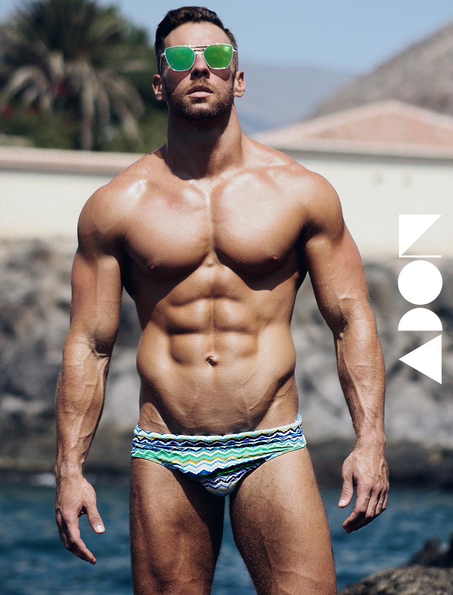 Adon Exclusive: Model Manuel Suaréz  By Ivan Oliva